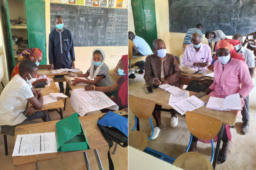 Training of CM1 teachers of the Sukaaɓe Janngo project