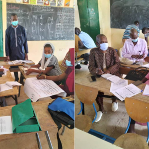Formation des enseignants de CM1 du projet Sukaaɓe Janngo