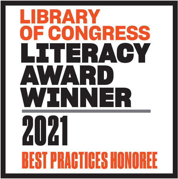 ARED – Library of Congress Literacy Award winner best practices honouree